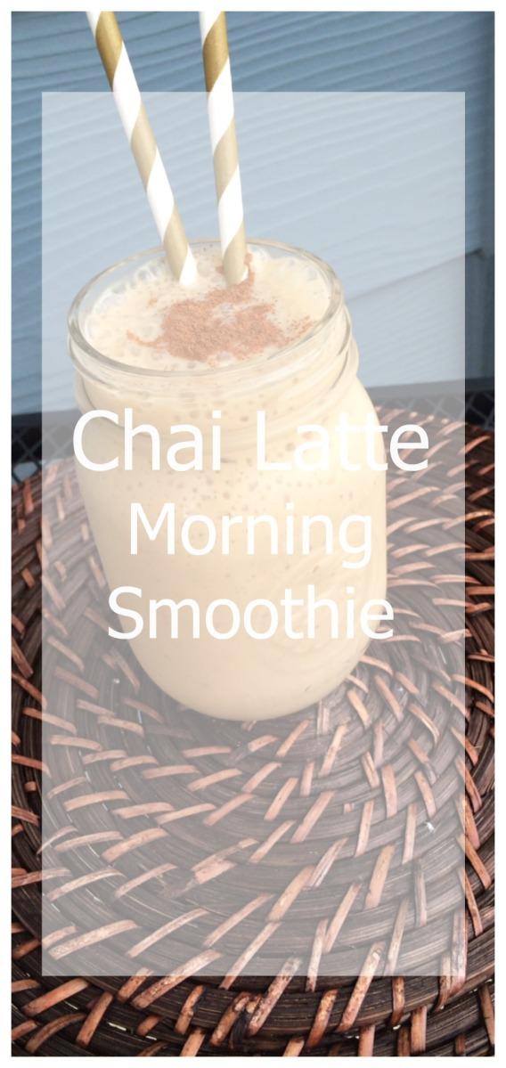 Chai Latte Morning Smoothie