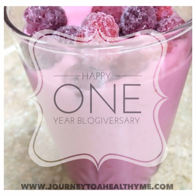 Happy One Year Blogiversary