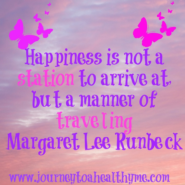 Inspiring quote by Margaret Lee Runbeck